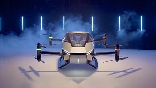 elektrikli uçan araç modeli: XPeng X2