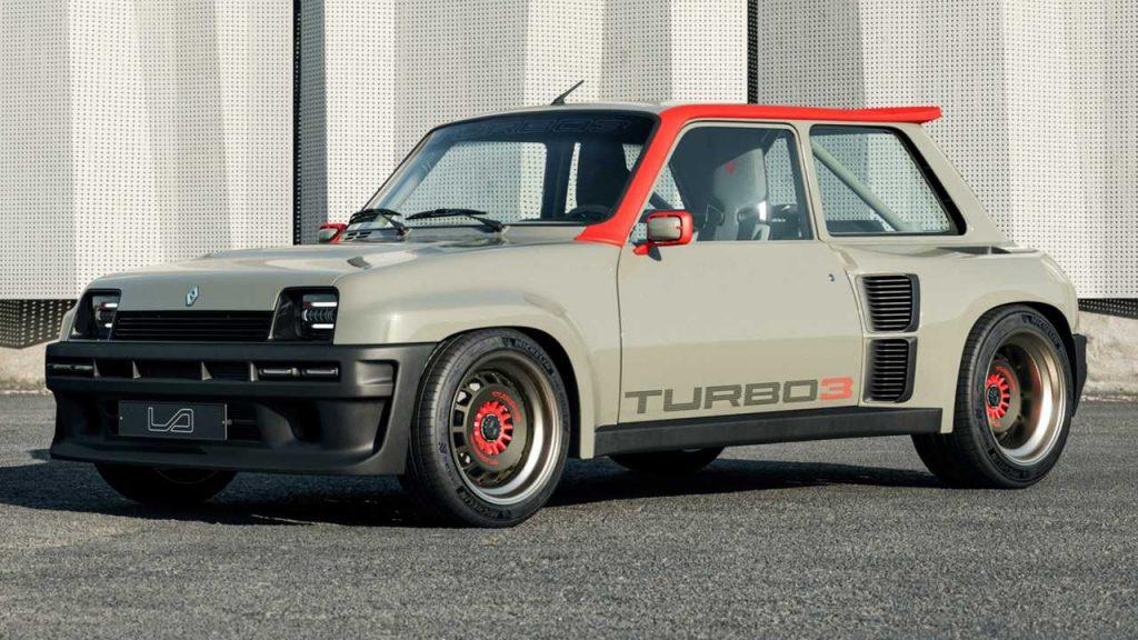 Legende Automobiles'den Renault 5 Turbo 3