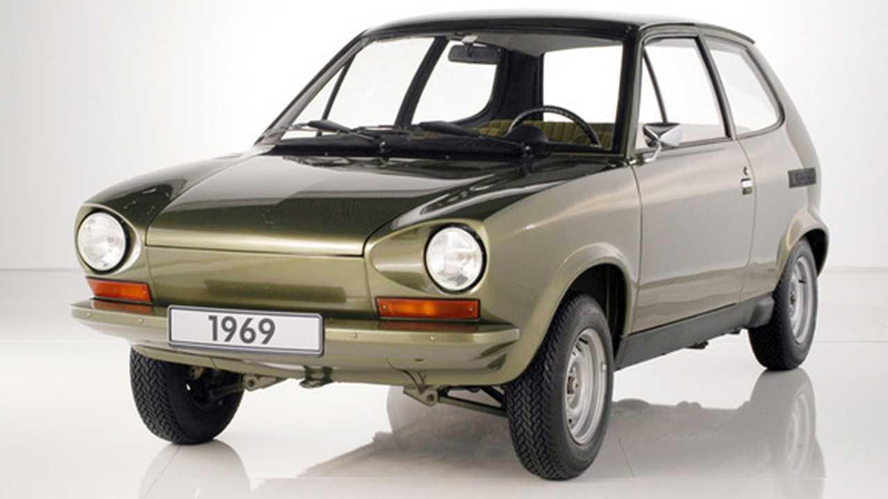 Olası VW Beetle prototipi (1969 EA266)