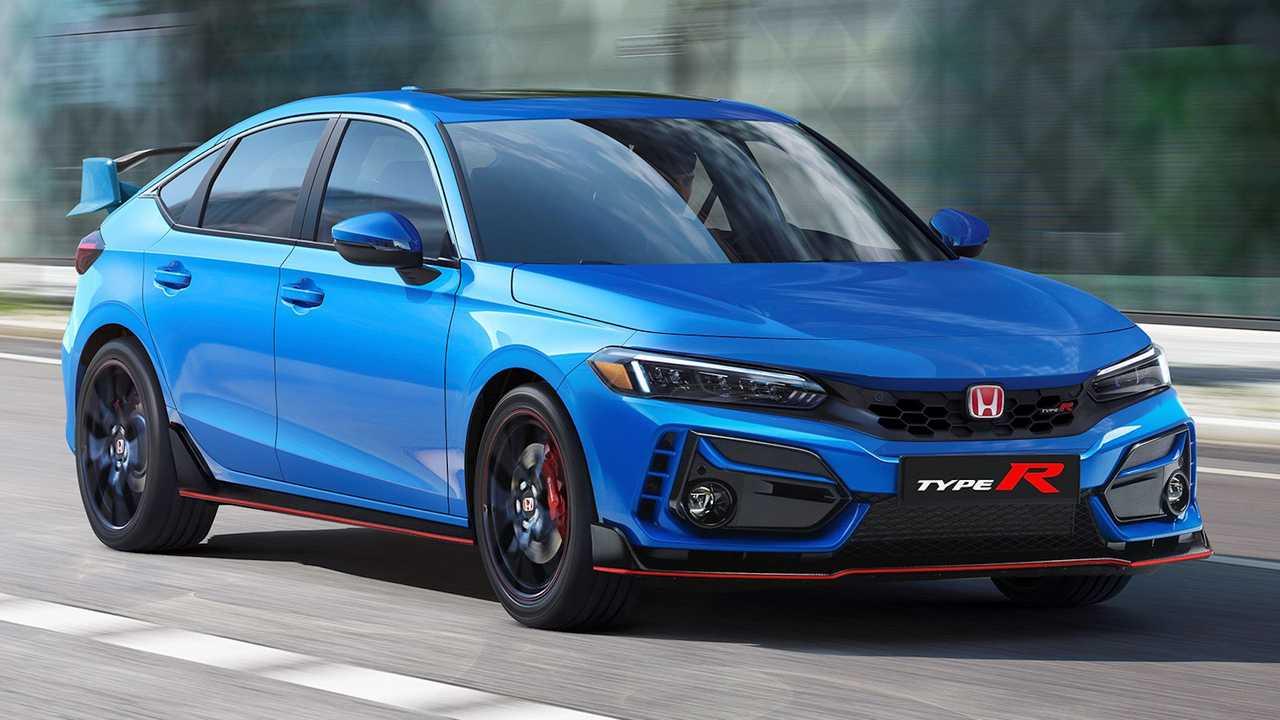 2022 Honda Civic Type Render çalışmaları