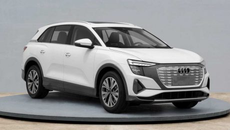 2022 Audi Q5 E-Tron'un görüntüleri yayınlandı.