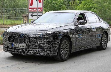BMW 7 Serisi Prototipi Ön Cephe