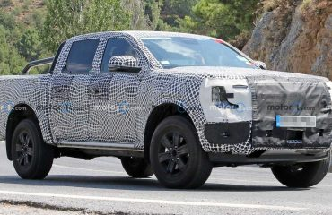 Ford Ranger Prototipleri Ön Cephe