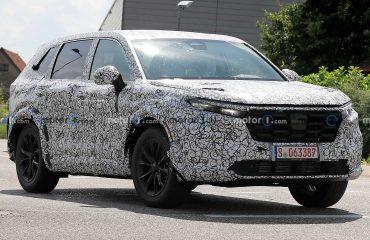 2022 Honda CR-V için test zamanı.