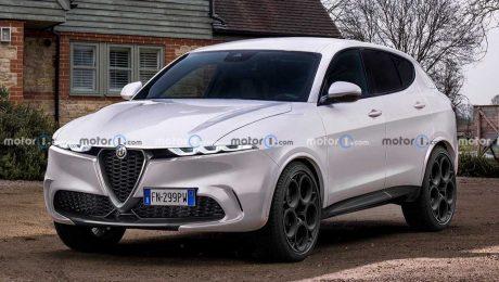 Alfa Romeo Tonale ön cephe