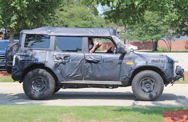 İlginç tavanlı Ford Bronco Sasquatch Prototipi