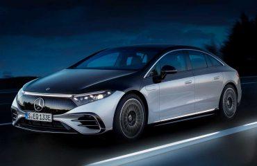 2022 Mercedes-Benz EQS 580 Edition Bir Dış Ön Çeyrek