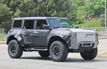 Yeni Ford Bronco Raptor, bir kez daha kadrajlara takıldı