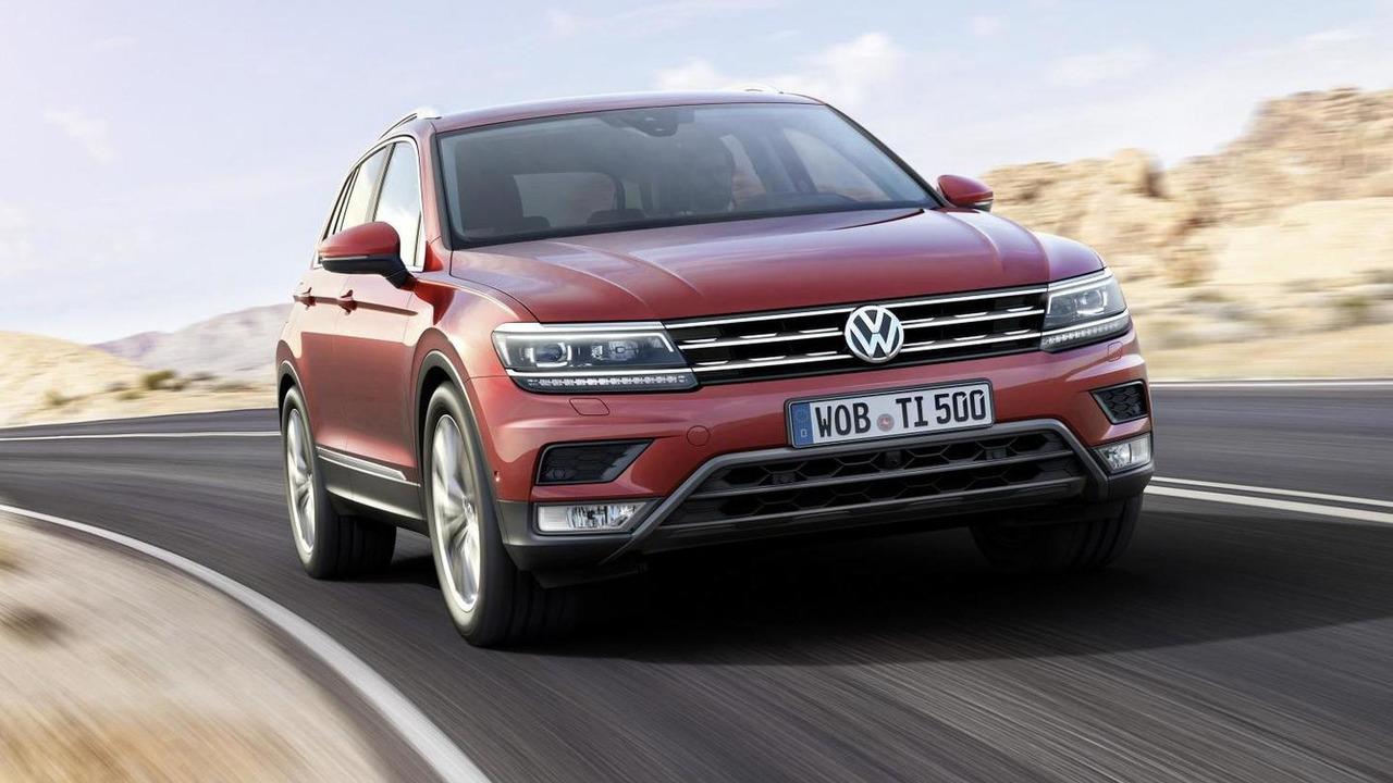 Volkswagen Tiguan ön cephe