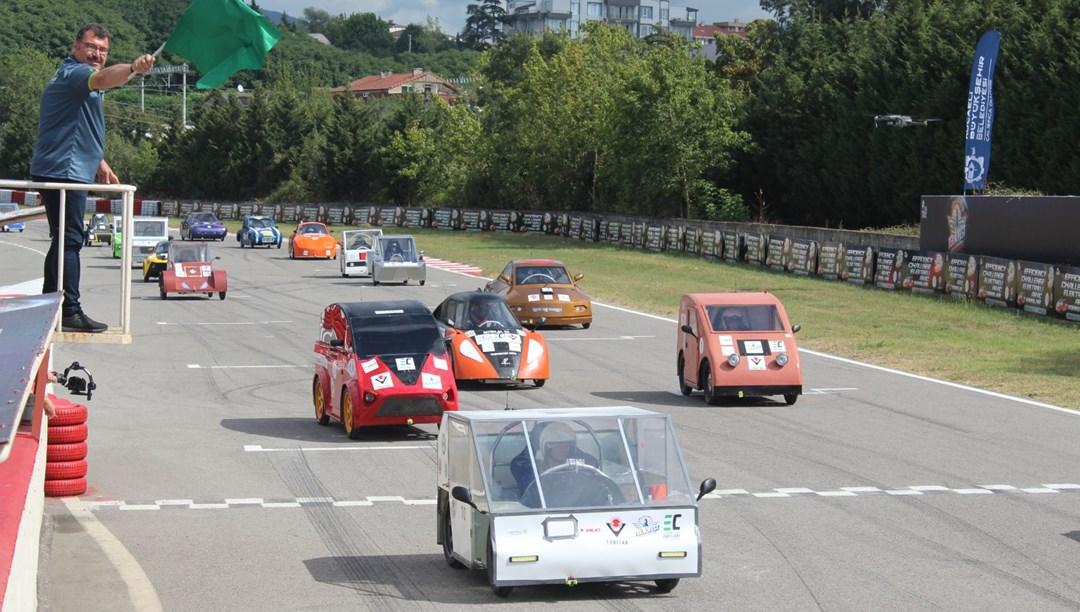 TEKNOFEST'te elektrikli araç yarışlarında final heyecanı