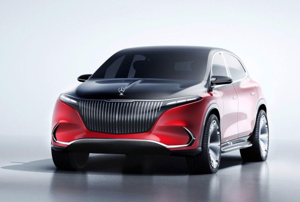 Mercedes-Maybach EQS SUV konsepti tanıtıldı - 2
