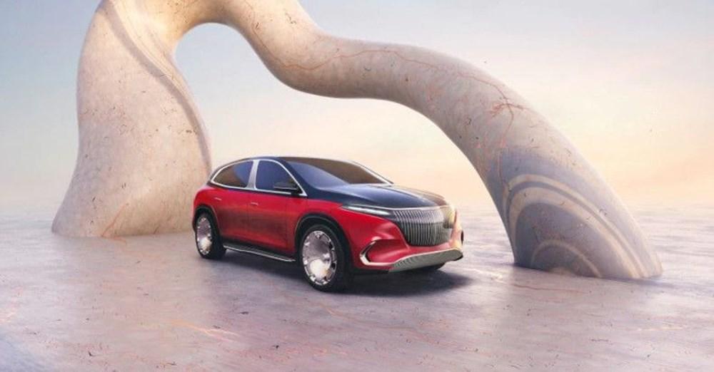 Mercedes-Maybach EQS SUV konsepti tanıtıldı - 9
