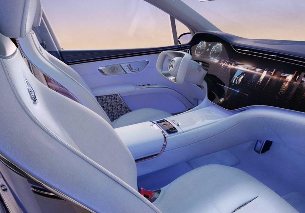 Mercedes-Maybach EQS SUV konsepti tanıtıldı - 4