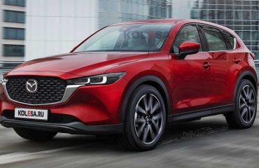 2021 Mazda CX-5 renderı.