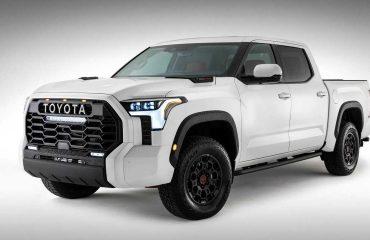 2021 Toyota Tundra teaserı.