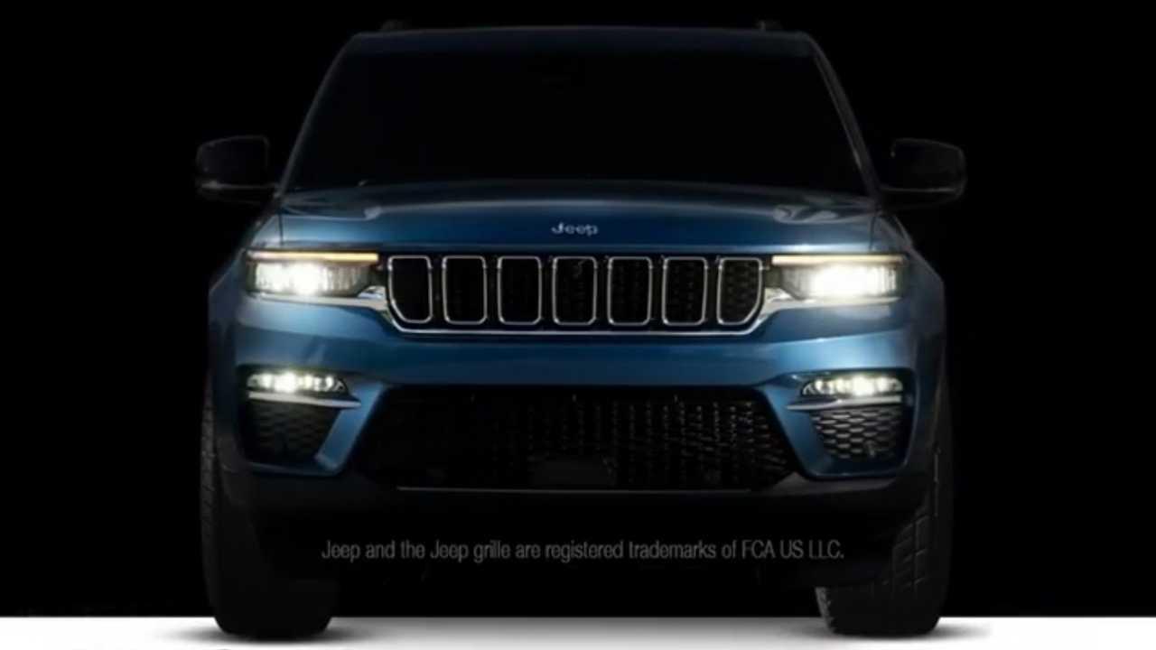 2022 Jeep Grand Cherokee Teaserı