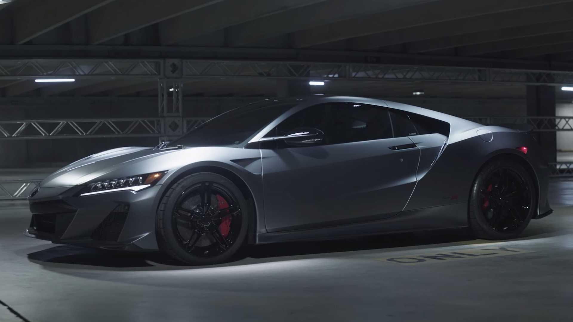 Acura, NSX Type S'in yapılışını detaylarıyla anlatıyor