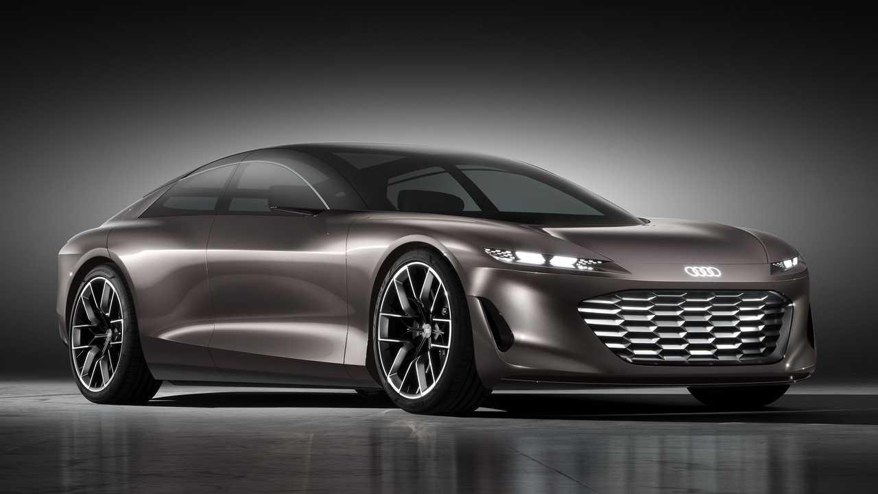 Audi Grandsphere Konsepti Ön cephe