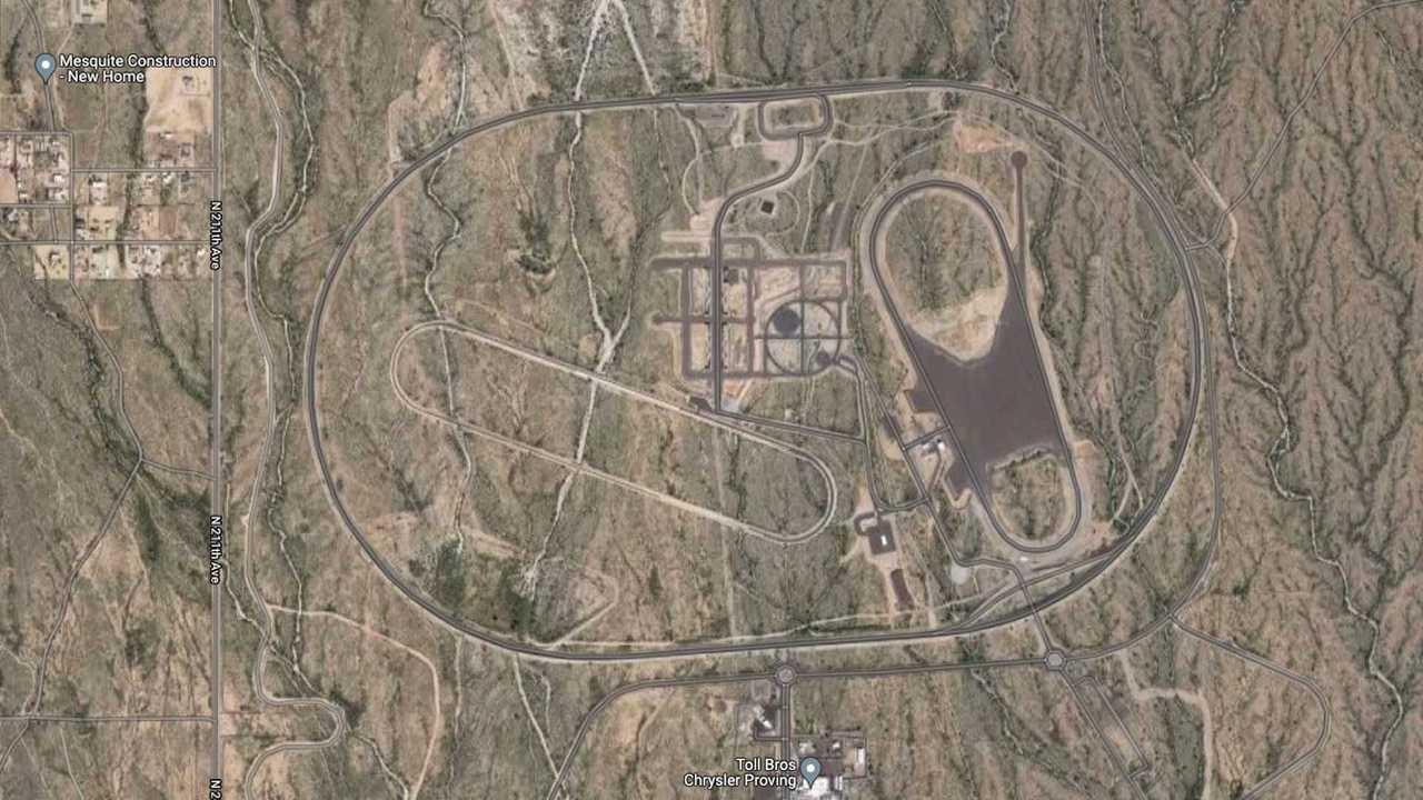 Chrysler'ın Arizona Eyaleti'ndeki Eski Pisti