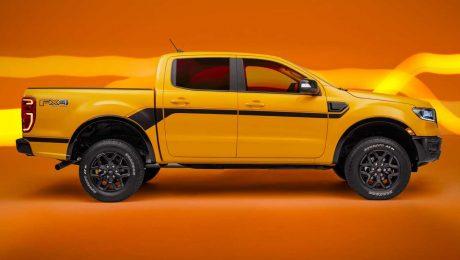 2021 Ford Ranger Splash Sürümü.