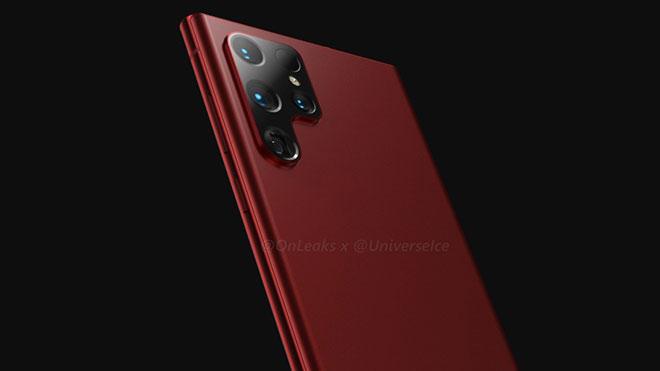 Galaxy S22 Ultra / Note 22 Ultra için arka tasarım böyle de olabilir