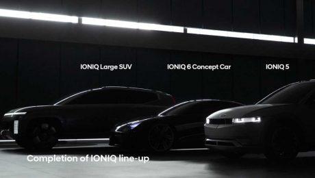 2023 Hyundai Ioniq 7 Teaser.
