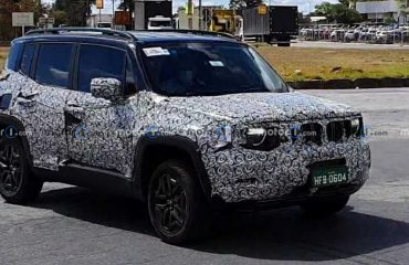 Jeep Renegade Prototipi Ön Cephe