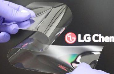 katlanabilir telefon LG Chem