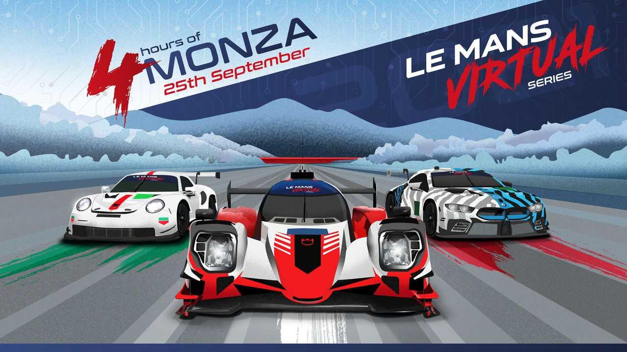 Le Mans Virtual Series yarışçıları, İtalya'nın Hız Tapınağı'nda ilk ayağa hazır