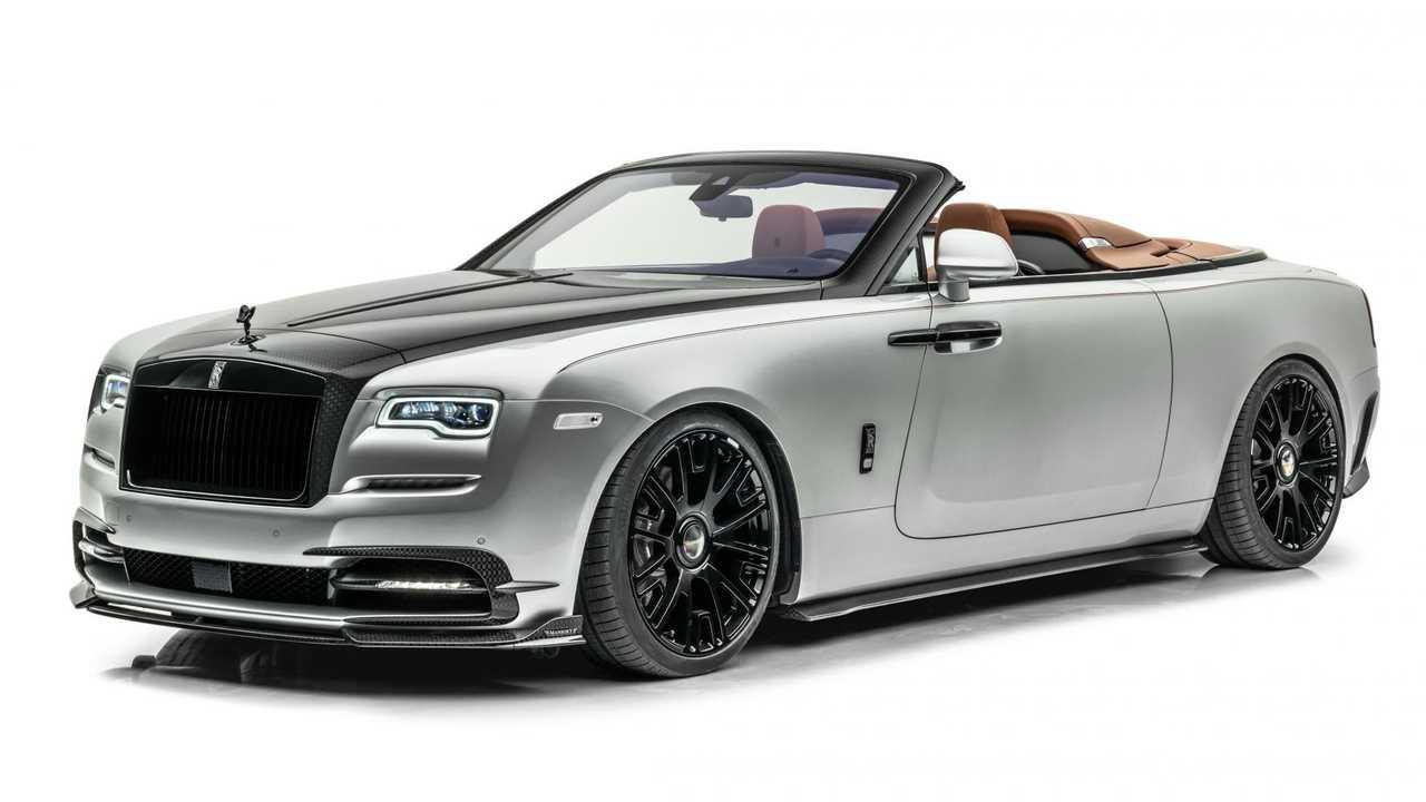 Mansory'nin Rolls-Royce Dawn Silver Bullet'a Modifiyesi