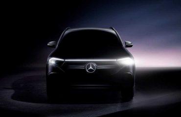 2021 Mercedes-Benz EQA.