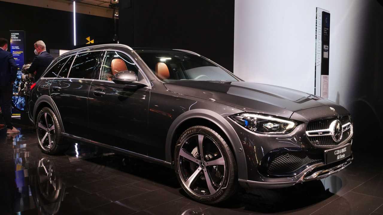 Mercedes-Benz C-Serisi All-Terrain Ön Cephe