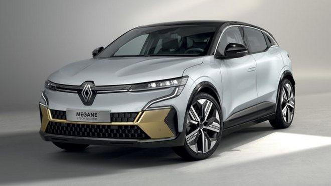 Renault Megane E-Tech Electric için tanıtım öncesinde ilk fotoğraflar