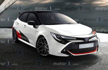 Toyota Auris (Corolla HB) GR hayali tasarımı (render)