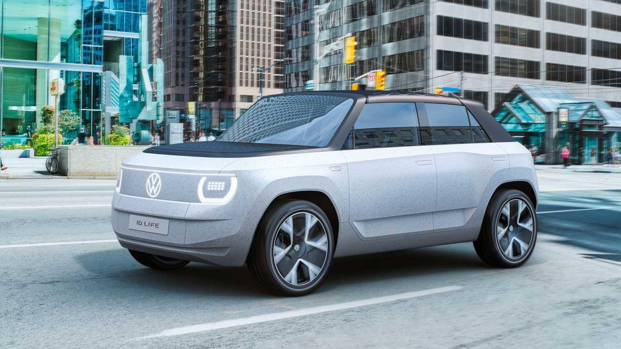 Volkswagen ID Life Konsepti Ön Cephe