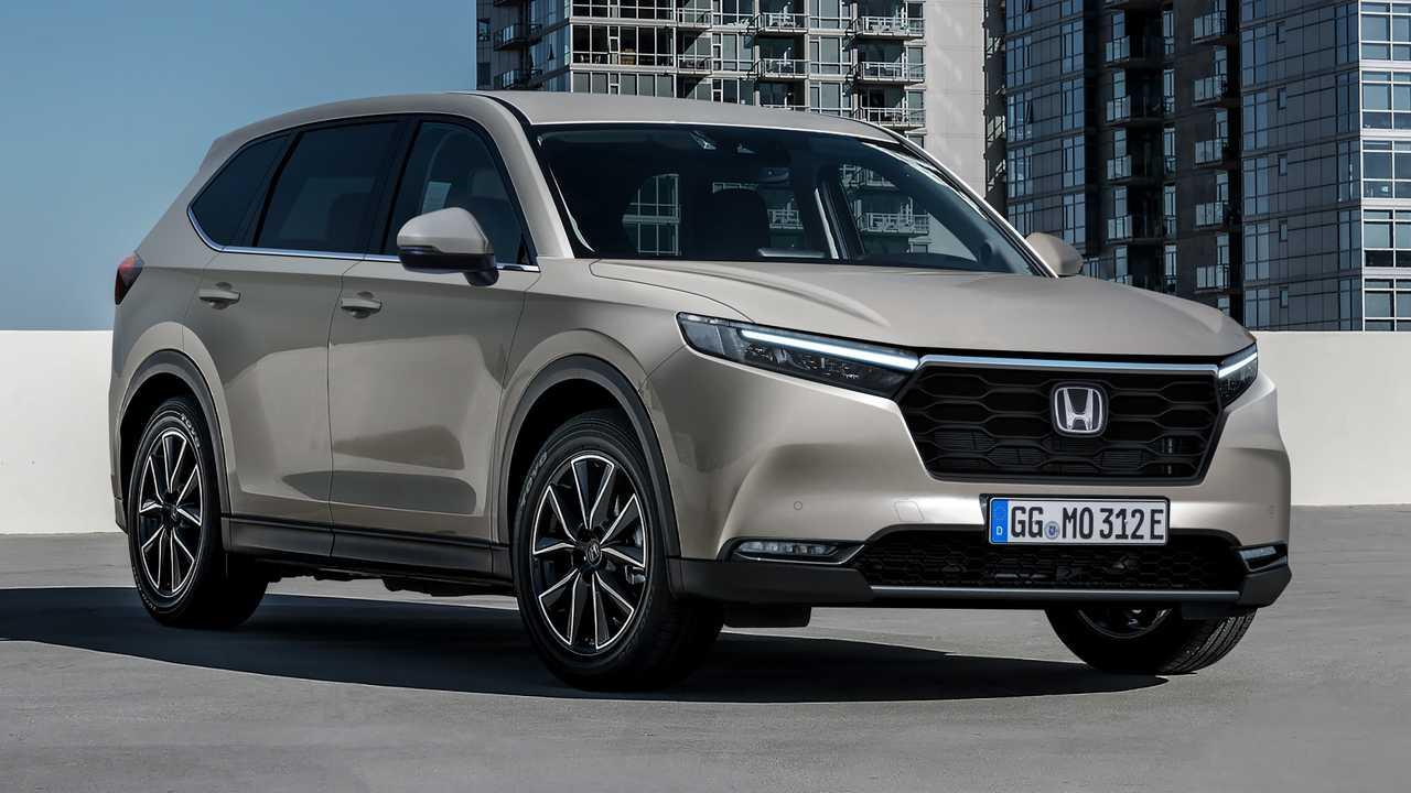 Yeni nesil Honda CR-V Renderı.