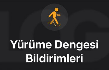 iOS 15 Yürüme Dengesi