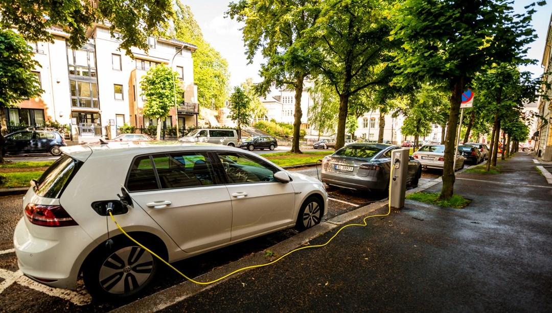 Norveç'in 2025 hedefi: Yeni otomobil satışlarında elektrikli payı yüzde 80'eyaklaştı