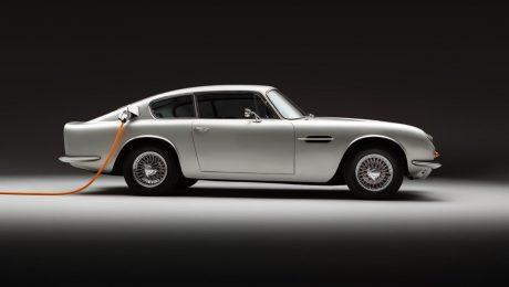 Bir klasik daha elektriklendi: Aston Martin DB6