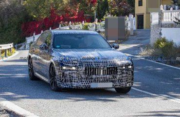 BMW 7 Serisi Ön Cephe