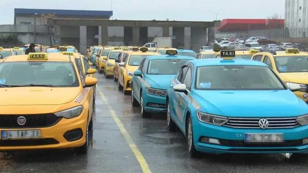 İBB taksi.