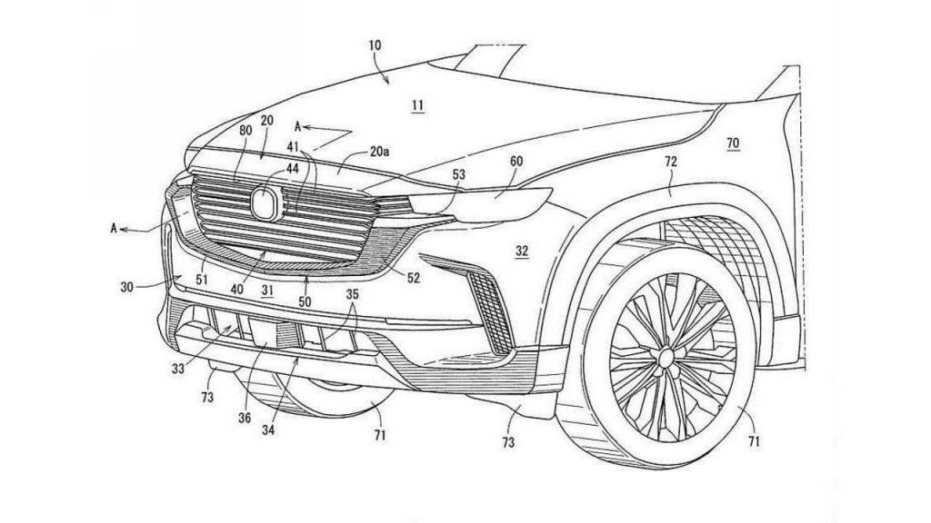 2022 Mazda CX-50 Patent Görüntüleri