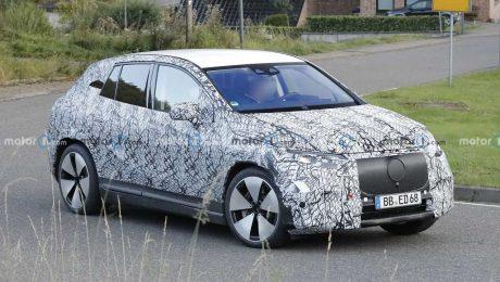 Mercedes-Benz EQE SUV Prototipi Ön Cephe