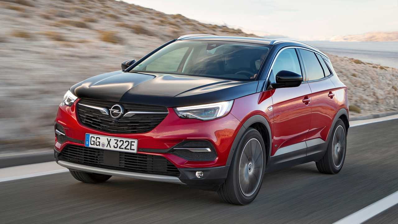 Opel Grandland X Hibrit Ön Cephe