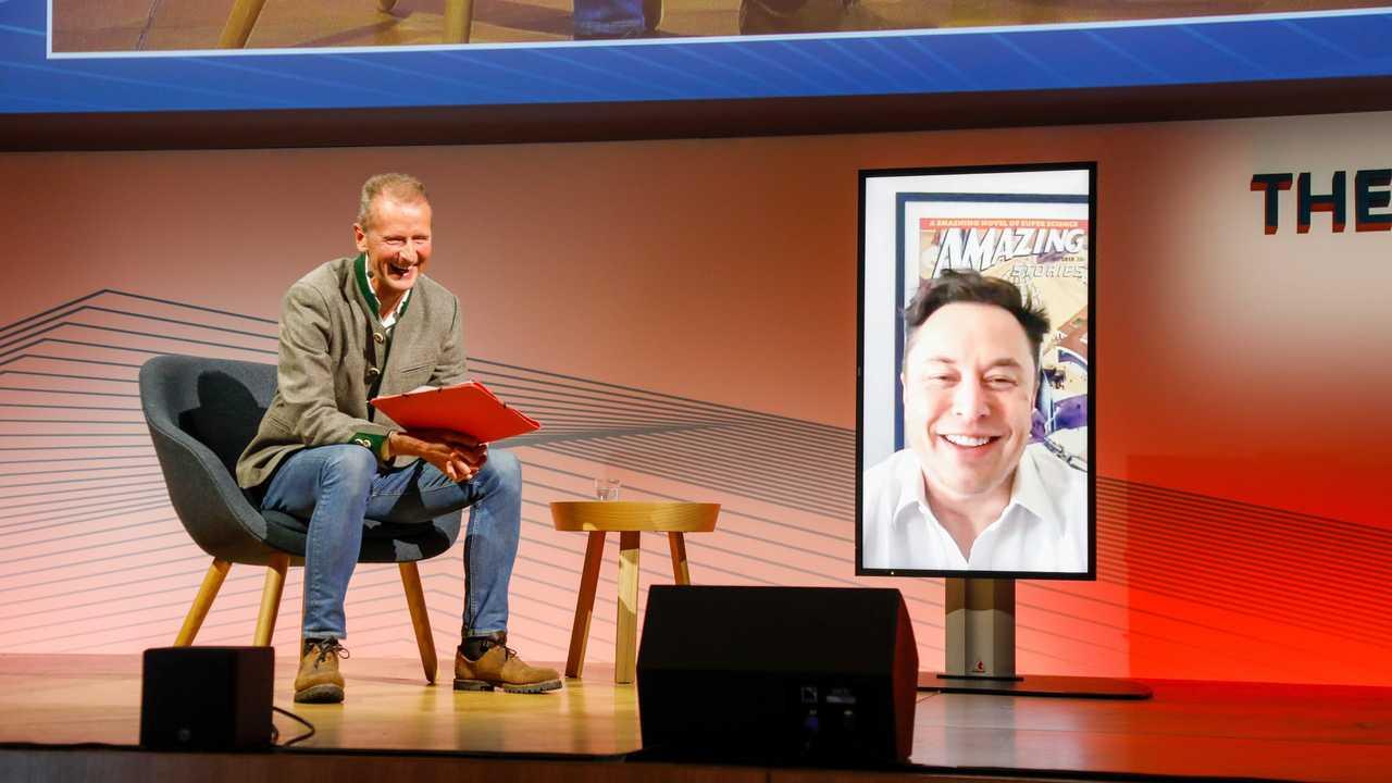 Herbert Diess ve Elon Musk
