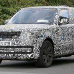 Land Rover Range Rover Şarj Edilebilir Hibrit Casus Fotoğrafı.